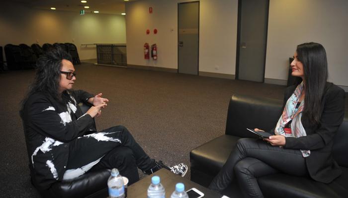 David Shingy talks with CMO senior journalist, Azadeh Williams