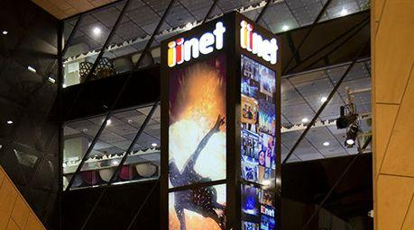 iinet launches new social media post at Perth Arena