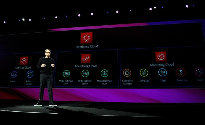 Brad Rencher at the 2017 Adobe Summit