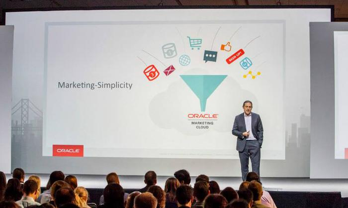 Oracle Marketing Cloud's John Stetic at the recent Oracle Responsys Interact event